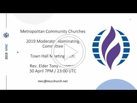 Town Hall Rev. Elder Tony Freeman
