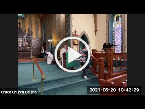 Grace Episcopal Church, Galena IL, 6 20 2021