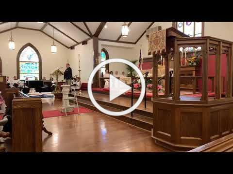 Sunday, April 28 2019 service at St. Margaret's