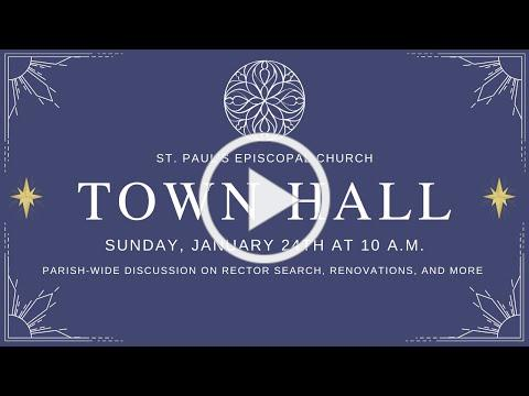 1/24/21: Vestry Town Hall
