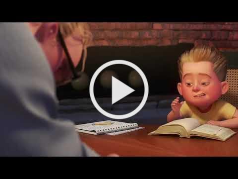 Incredibles 2 - 'Math Is Math' Scene