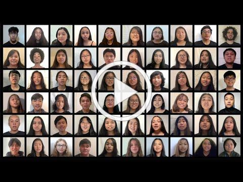Maui High School Chorus - Blinding Lights
