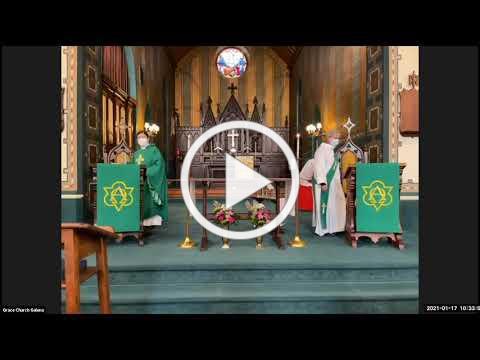 Grace Episcopal Church, Galena IL, January 17, 2021