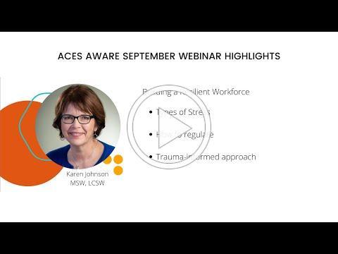 ACEs Aware September Webinar Highlights