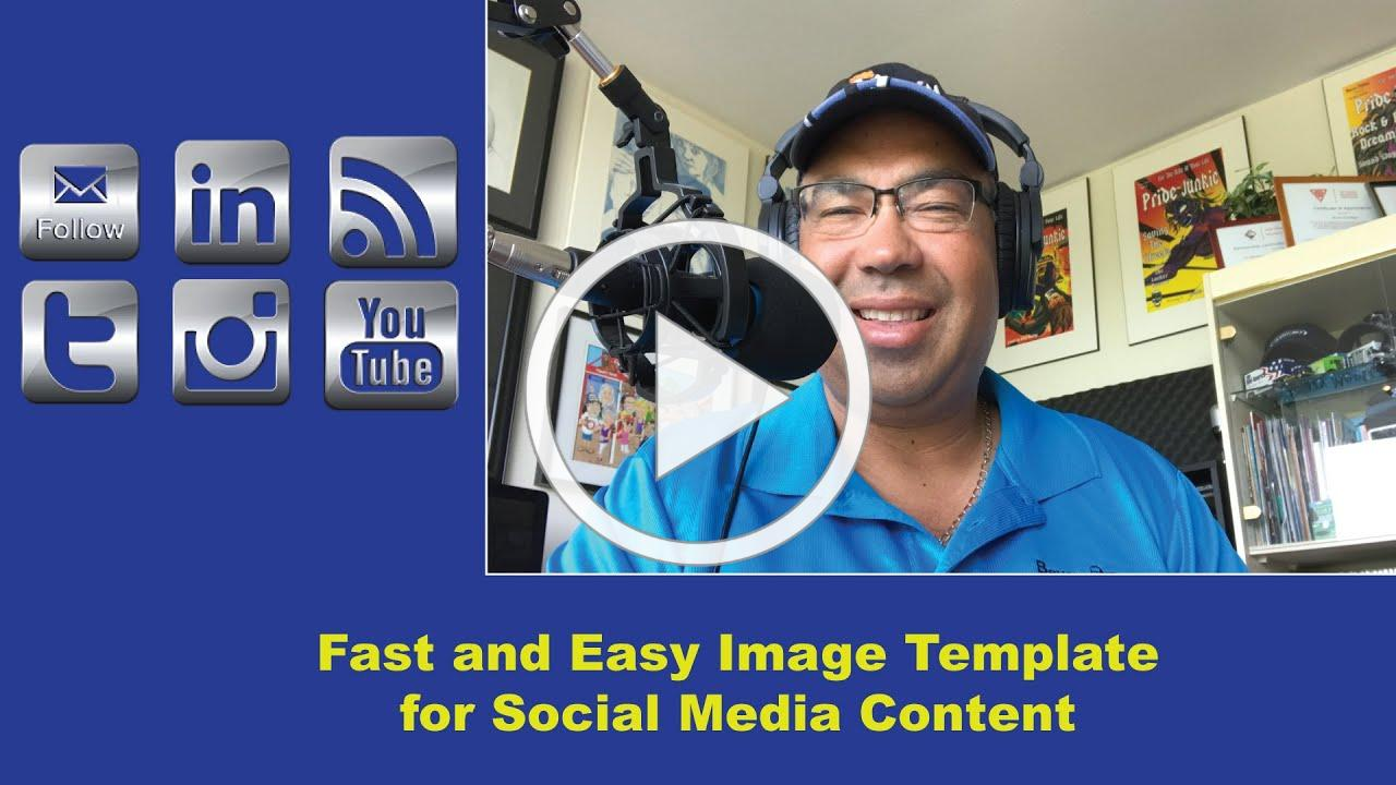 Setting up an Image Template for Special Media Platforms