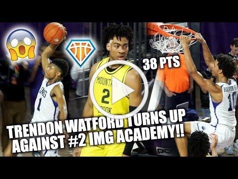 Trendon Watford DROPS 38 in EPIC BATTLE w/ #2 IMG Academy!! | 2018 City of Palms