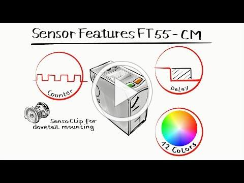 FT 55-CM - a smart color sensor bursting with talent