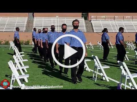 Columbia-Richland Fire Graduation Ceremony