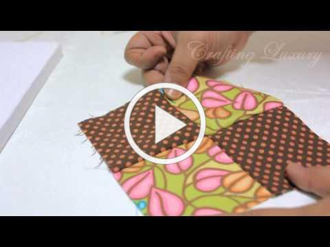 How To Sew A Pin Cushion In Under 5 Mins !
