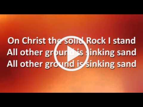 My Hope Is Built On Nothing Less Worship Video