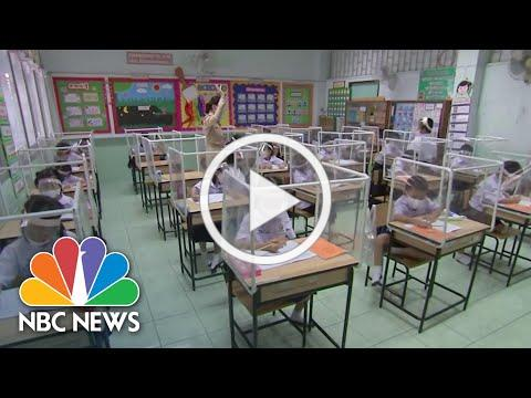 From Thailand To Israel, Schools Around The World Return With COVID-19 Guidelines | NBC News NOW