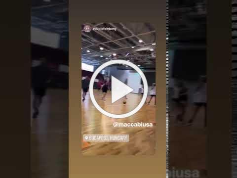 Open Men's Basketball Practice in Budapest, Hungary
