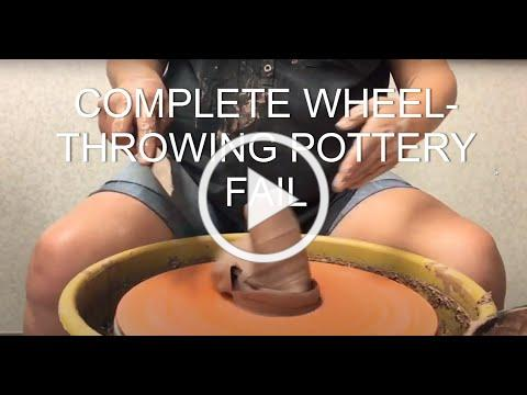 Complete and utter wheel-throwing pottery FAIL