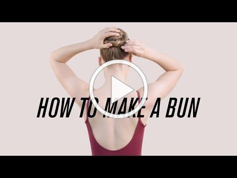 How to Make the Perfect Ballet Bun