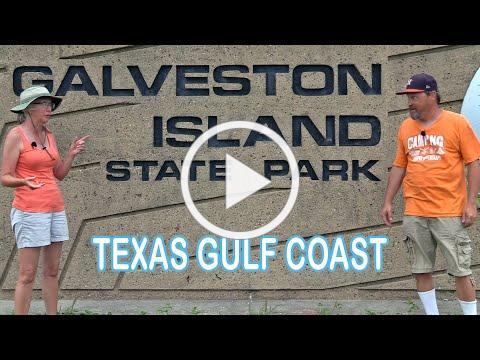 Galveston Island State Park Campground Tour | RV Texas