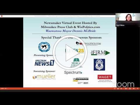 MPC's Zoom webinar featuring Wauwatosa Mayor McBride