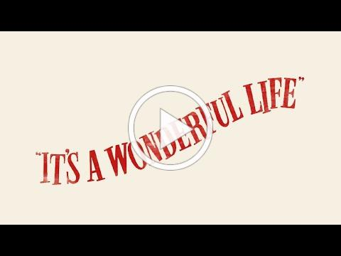 """A 1940's Radio Hour featuring """"It's A Wonderful Life."""""""