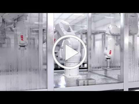 ABB launches IRB 1100 robot and OmniCore™ controller for harsh environments