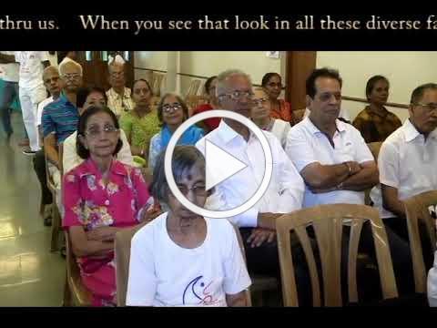 "World Tai Chi & Qigong Day -- ""Opening Statement"" in Hindi with English Subtitles"