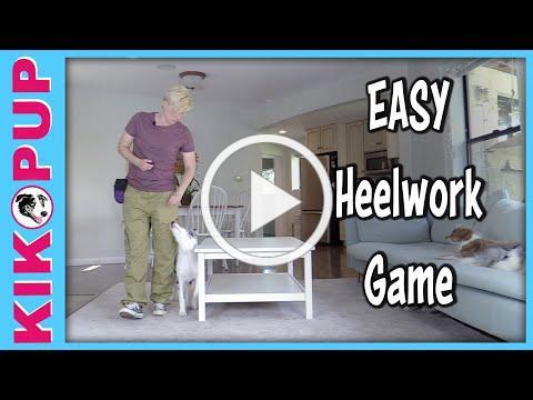 Fun EASY Heelwork Game