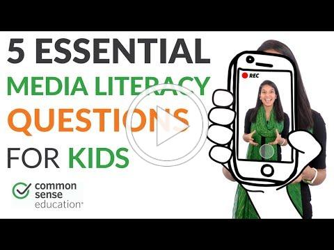 5 Essential Media Literacy Questions for Kids