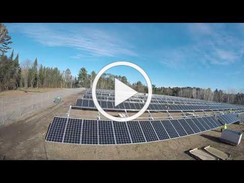 Pine River Solar for Schools Timelapse (Shorter Version)