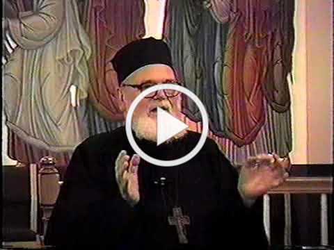 Fr. Roman Braga speaking in 1995 at St. Ignatius, Franklin TN USA