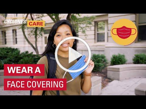 Cyclones Care: Wear a face covering
