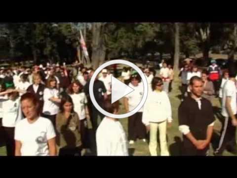 Documental sobre el Día Mundial del Tai Chi en Uruguay - 1ª Parte