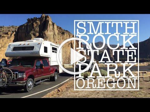 Truck Camper Vacation * Smith Rock Oregon