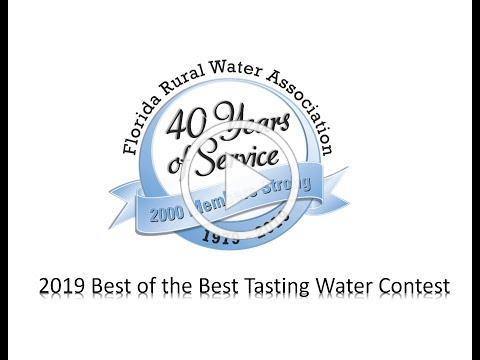 2019 Best Tasting Water Contest