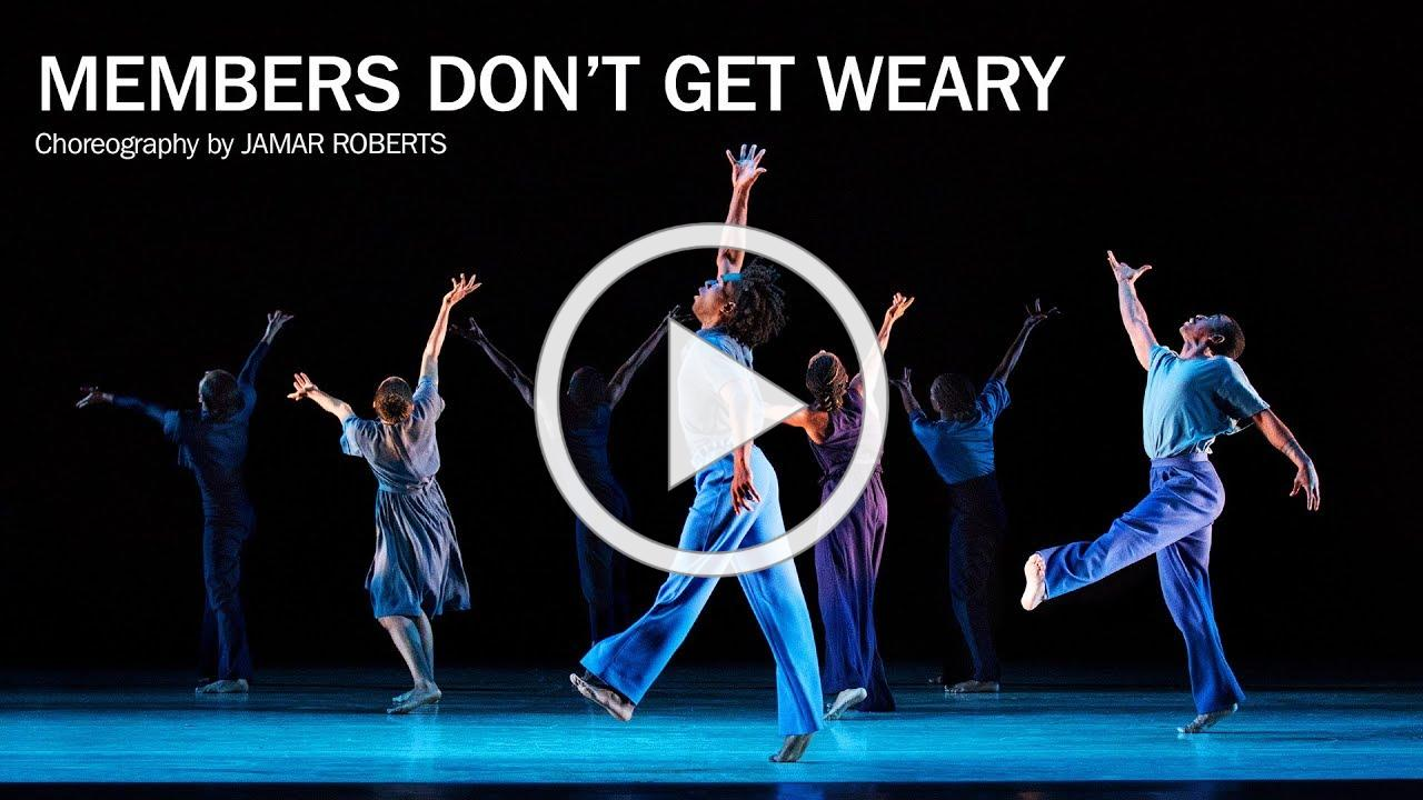Members Don't Get Weary by Jamar Roberts