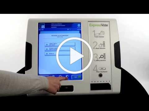 ExpressVote Voting System
