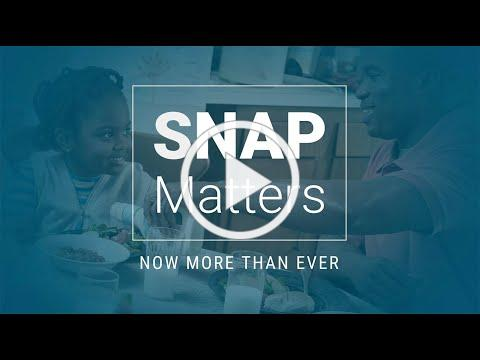 SNAP Matters - Now More Than Ever: Boosting SNAP Benefits