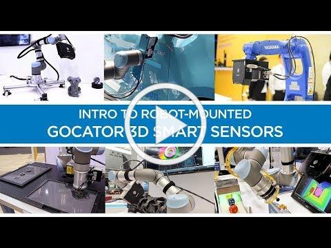 Intro to Robot-Mounted Gocator 3D Smart Sensors