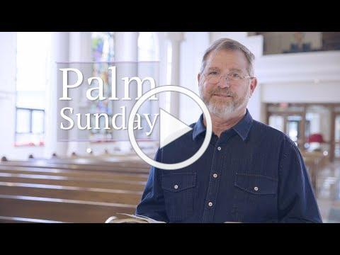 Jesus, Palm Sunday, and the New Covenant