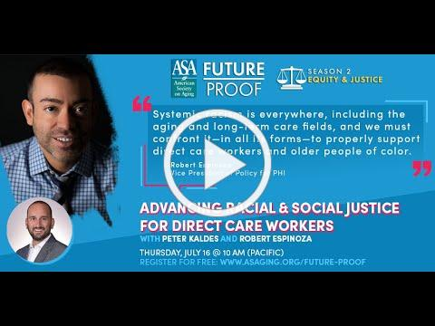 Future Proof: Advancing Racial & Social Justice for Direct Care Workers