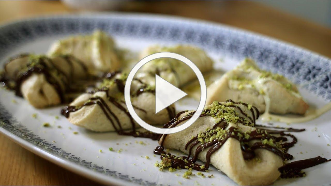 21see presents Tayim: How to make Nutella-filled hamantaschen cookies (oznay haman) for Purim