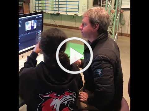 Seth Gerlis visits Talon News