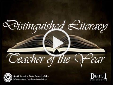 2017 Distinguished Literacy Teacher of the Year - Ashley Paddock