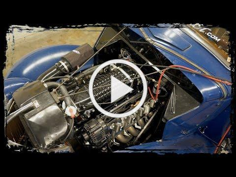 1936 Ford Coupe with a Supercharged LS3 gets dialed in on the Dyno.