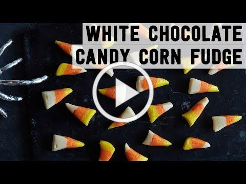 White Chocolate Candy Corn Fudge | Food Network