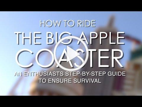 How to Ride the Big Apple Coaster at the New York New York Hotel and Casino