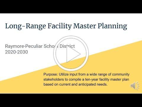 Long-Range Facility Planning presentation