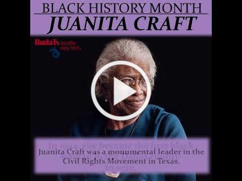 Black History Month: Juanita Craft