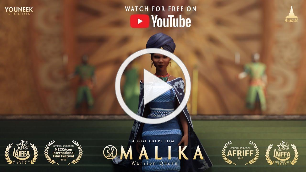 Malika - Warrior Queen Animated Pilot/Film [FULL]