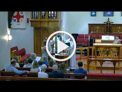The Sacrament of Holy Baptism for Strobe Desmond Ewing