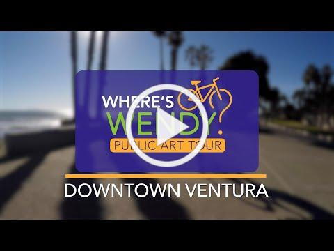 Where's Wendy Public Art By Bicycle - Downtown Ventura