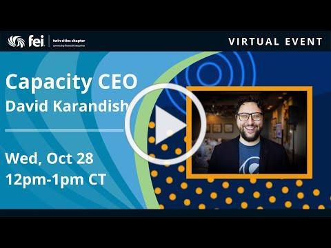 Capacity CEO   David Karandish