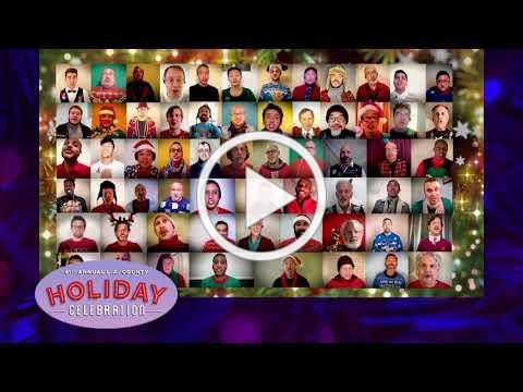 Tune in to watch the 61st Annual L.A. County Holiday Celebration on December 24, 2020